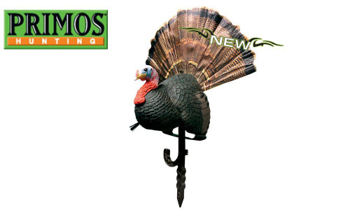 Primos Chicken On A Stick Turkey Decoy and Gun Rest #69067