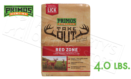 Primos Deer Feed Take Out Salt Block 4 lbs. #58737