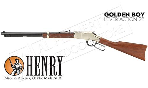 Henry Golden Boy Lever Action 22 Caliber Rifle #H004