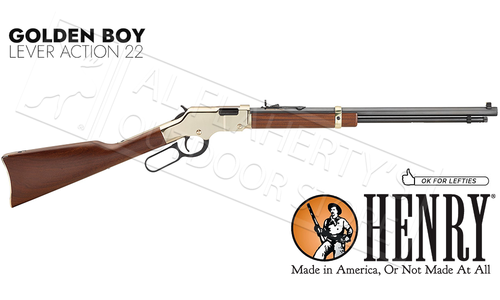 Henry Golden Boy Lever Action 22 Caliber Rifle #H004