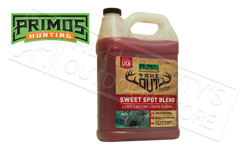 Primos Hunting Take Out Mineral Lick, Sweet Spot Blend 1 Gallon Jug #58733