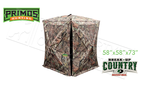 Primos Hunting The Club XL Blind in Mossy Oak Break-Up Country #65107