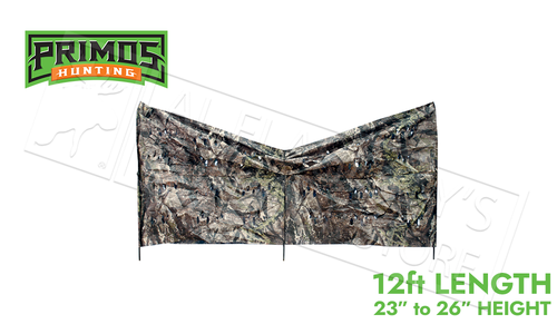 "Primos Hunting Up-N-Down Stakeout Blind, 12ft, 23-36"" Height #6093"