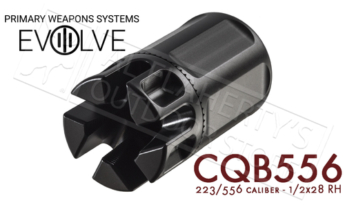 PWS CQB Compensator for 5.56/223 1/2x28 Threading #CQB556