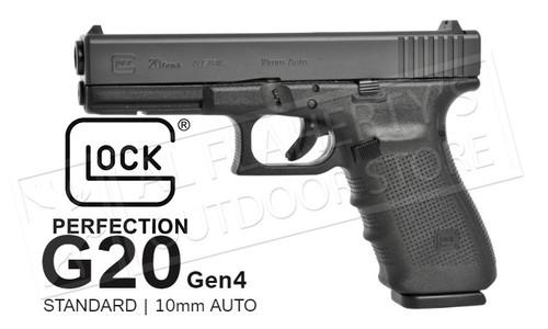 Glock 20 Gen 4 fixed Sight 10mm