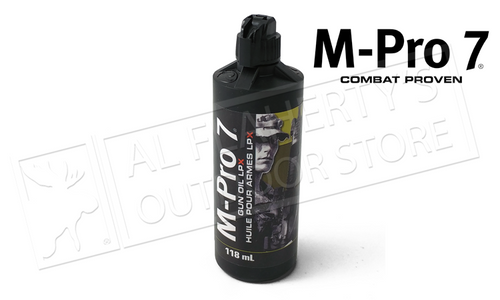 M-Pro 7 Gun Oil LPX 4 oz. Bottle #070-1453