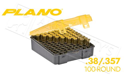 Plano 100-Count Handgun Ammo Case - 38/357 Caliber #122500