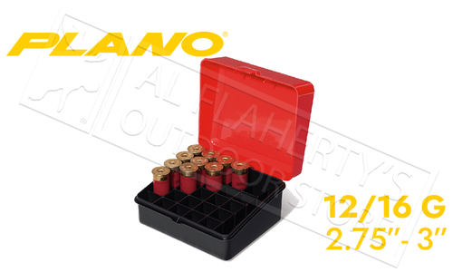 "Plano Shot Shell Case for 25-Rounds of 12 or 16 Gauge - 3"" #121601"