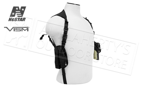 VISM Double Shoulder Holster Black or Tan #CV2909