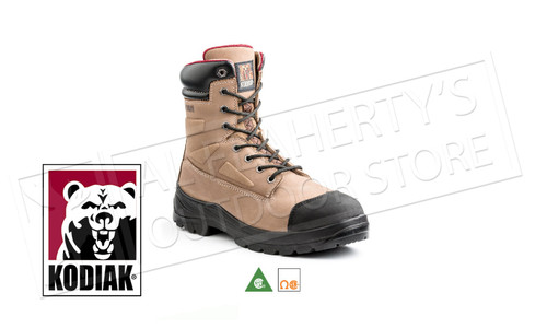 Kodiak Rebel Leather Steel Toe 8 Inch Work Boot