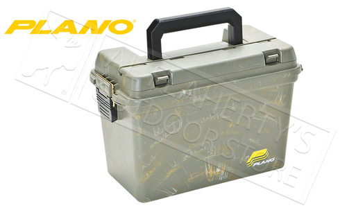 Plano Field Ammo Box - Large with Tray in Green #161200
