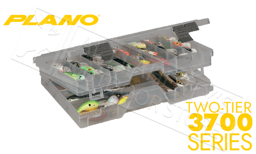 Plano StowAway Guide Series Two-Tiered Rack Tackle Organizer #470000