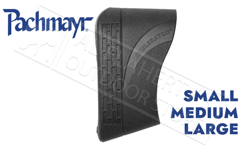 Pachmayr Decelerator Slip-On Recoil Pads with Speed Mount Insert, S-L Black #0441