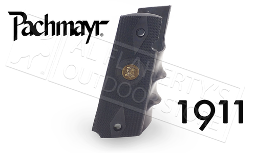 Pachmayr 1911 Combat Gripper Rubber Grip w/Finger Grooves #05008