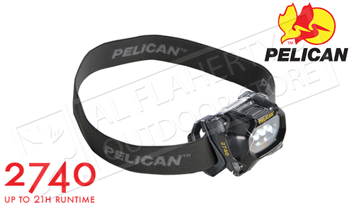 Pelican Adjustable LED Headlamp, 36 or 66 Lumens #2740