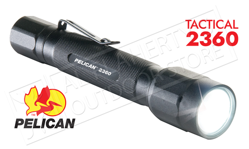 Pelican 2360 Tactical Flashlight - 4 Modes up to 375 Lumens