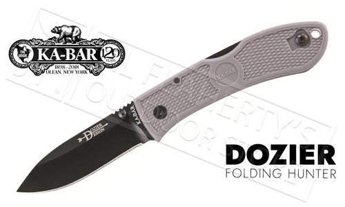 KA-BAR Dozier Folding Hunter, Gray #4062GY