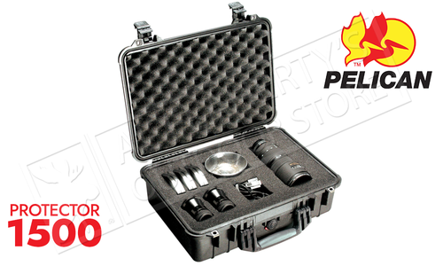 Pelican Protector 1500 Handgun and Hardware Case - Deep Medium