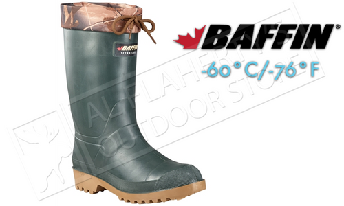 Baffin Trapper Boot, Forest Green, Rated to -60°C/-76°F