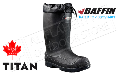 Baffin Titan Boot -100°C Black - Various Sizes #23550000001