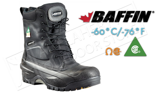 Baffin Workhorse Safety Boot, -60°C - Toe & Plate #71570238