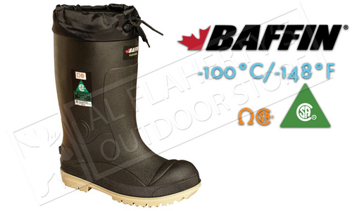 Baffin Safety Boots Titan -100°C / -148°F, Sizes 8 to 13 #23590000