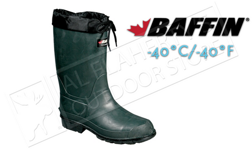Baffin Hunter Boot, Forest/Black, Rated to -40°C/-40°F #85620000