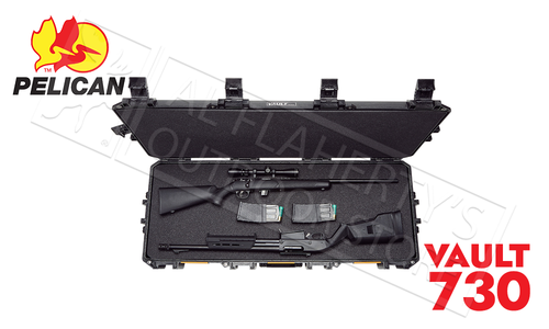 Pelican Vault 730 Tactical Rifle Case with Wheels #V730