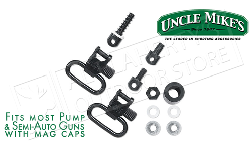 Uncle Mike's QD Super Swivel Kit for Most Pump and Semi-Auto Shotguns #12312