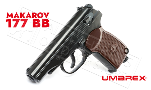 Umarex Air Pistol CCCP Makarov PM 177 BB with Blowback #2252232