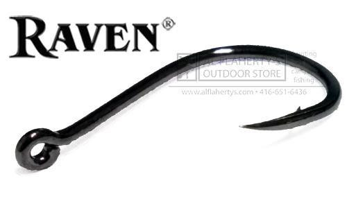 Raven Specialist Hooks, Nickel Finish, Sizes 14 to 2 #RVSP