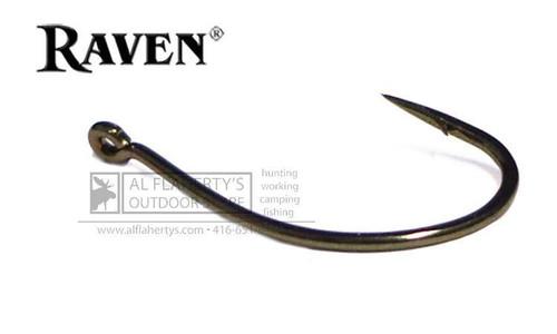 Raven Sedge Hooks, Bronze Finish, Sizes 16 to 8 #RVSG
