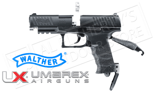 Umarex Air Pistol Walther PPQ .177 Pellet or BB 360FPS #2256010