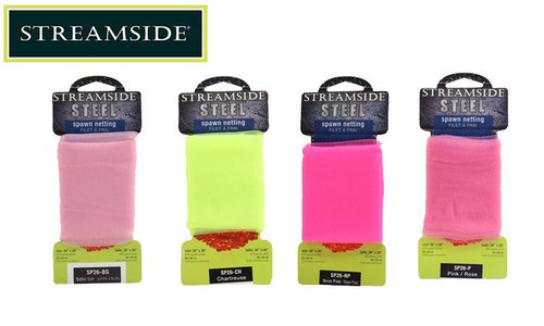 """Streamside Steel Spawn Netting, Various Colours, 26"""" x 26"""" Squares #SP26"""