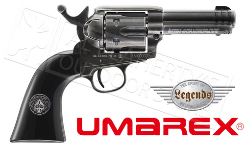 Umarex Air Pistol Legends Ace in the Hole Revolver, Single Action .177 Caliber #2251816
