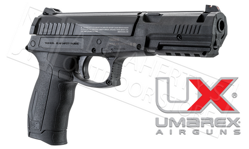 Umarex DX-12 Spring Piston BB Gun, Single Shot .177 Cal with Bonus 200 BB Tin #2230030