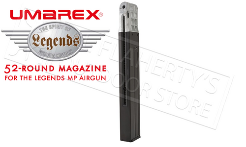 Umarex Magazine Legends MP Airgun, .177 Caliber BB 52-Round #2251814