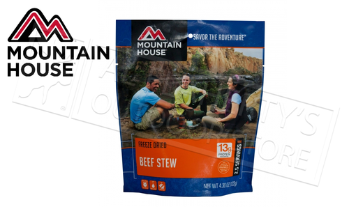 Mountain House Pouch, Beef Stew, 1 Cup #53114