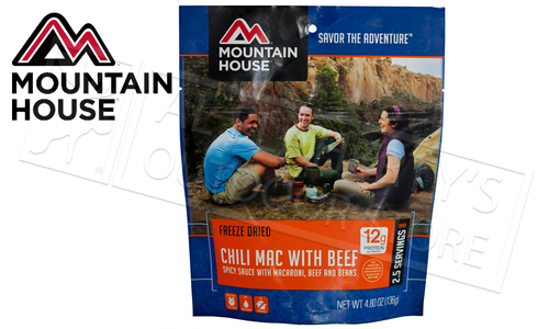 Mountain House Pouch - Chili Mac with Beef 136g #53128