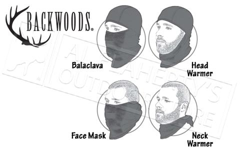 Backwoods 4-Way Balaclava Pro #LAVA-PRO