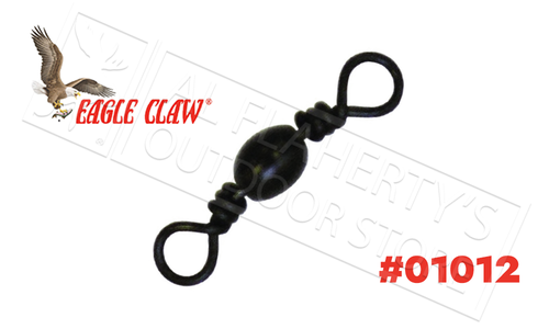 Eagle Claw Barrel Swivel, Sizes 5 to 18, Packs of 8 #01012