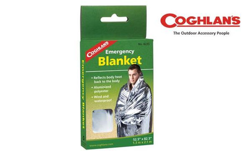 "Coghlan's Emergency Blanket, 52"" x 82.5"" #8235"