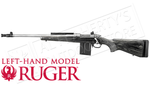 Ruger Gunsite Scout Rifle, Left Handed, .308 with Muzzle Brake #6821
