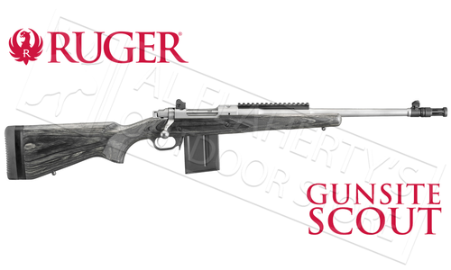 Ruger Gunsite Scout Rifle with Laminate Stock #6822