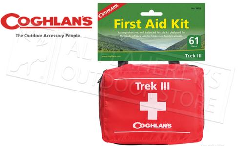 Coghlan's First Aid Kit - Trek III 61-Pieces #9803
