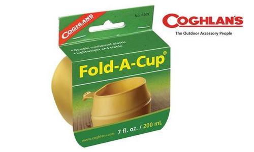 Coghlan's Fold-A-Cup Camp Cup, 7 fl. oz. #8309