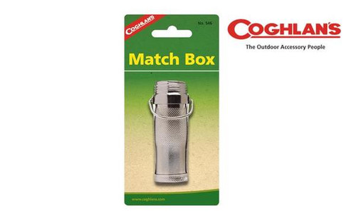 Coghlan's Metal Match Box, Waterproof #546