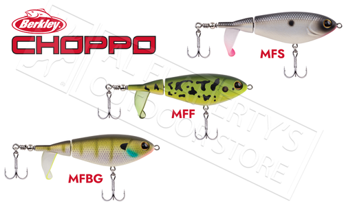 Berkley Choppo Jointed Topwater Bait, Various Patterns 90mm 1/2 oz. #BHBCP90