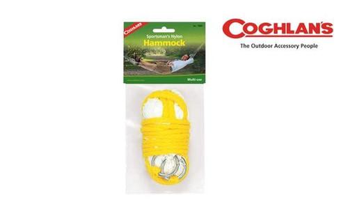 Coghlan's Sportsman's Nylon Hammock, Compact, 220 lbs. Rating #7880