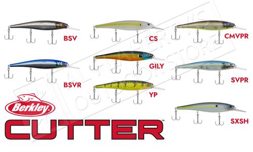 """Berkley Cutter 110+ Jerkbaits, 4-3/8"""" 9/16 oz. #BHBCT110+"""